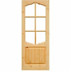 Дверь ДФОн 21-9 (стекло) арочная