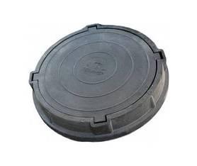 Люк ПКТ 780/100/60мм (нагрузка 15т) черный
