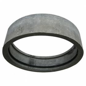 Муфта 400 ас./цем.+ 2 рез.кольца