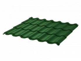 Металлочерепица Стандарт 2.25*1.18 зеленый