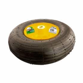 Колесо пневмат. 4.00-6 D 325 мм D 16 мм, длина оси 100 мм 68938