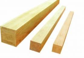 Столб деревянный 4м 100*100