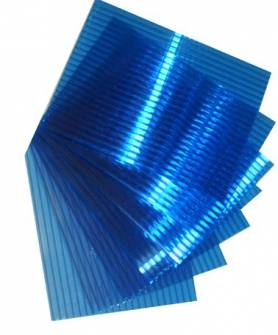 Сотовый ПК Синий 4мм 2.1*6м